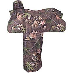 Tough 1 Heavy Denier Nylon Saddle Cover in Prints, Timber