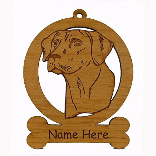 Rhodesian Ridgeback Head Dog Ornament 083822 Personalized With Your Dog's Name ()