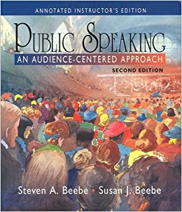 Public Speaking An Audience-Centered Approach Annotated ...