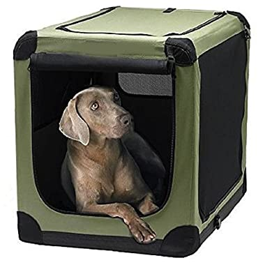 Soft Pet Kennel Indoor/Outdoor Pet Home (XL:32*23*23)