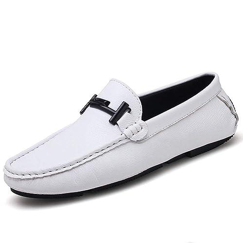 Calzado de conducción para Hombre Calzado de Cuero Casual Calzado Italiano Formal Mocasines para Hombres: Amazon.es: Zapatos y complementos