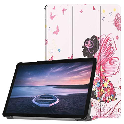 - Hetai for Samsung Galaxy Tab S4 10.5 Inch 2018 Model SM-T830/T835/T837 Owl Pansy Dandelion Eiffel Tower Design Smart Tablet Chassis Triple Stand Automatic Sleep/Wake Up (Pattern : 4)