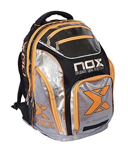 Nox Senior 16 Mochila de Pádel, Unisex Adulto, Verde, Talla Única