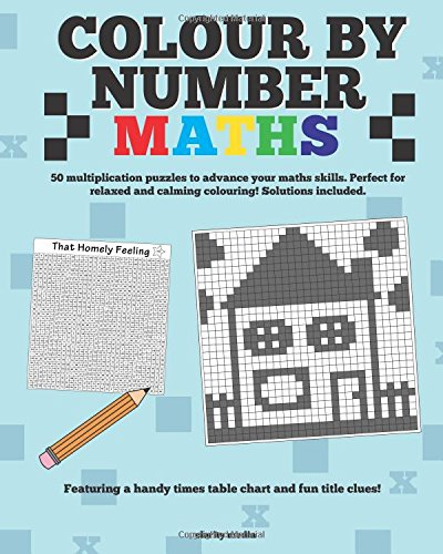 Colour By Number Maths: Amazon.co.uk: Clarity Media: 9781522869771 ...