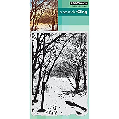 Penny Black Wintry Trail Cling Stamps, 5
