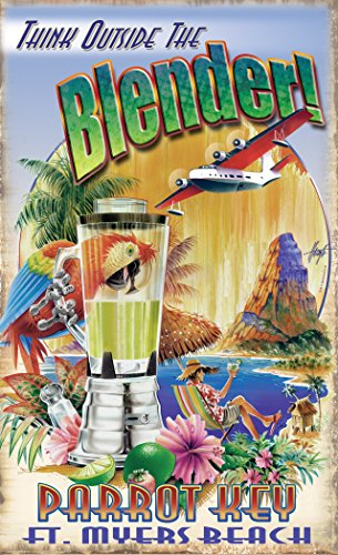 Northwest Art Mall JM-6730 TOB Parrot Key Fort Myers Beach Florida Think Outside The Blender 11