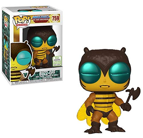 - POP! Funko Masters Of The Universe Buzz Off Funko ECCC (Shared Sticker)