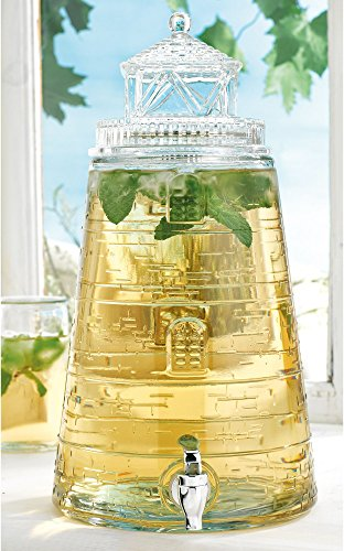 Home Essentials Lighthouse 1.5 Gallon Beverage (Glass Lighthouse)