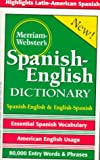 Merriam-Webster's Spanish-English Dictionary, , 0877799164