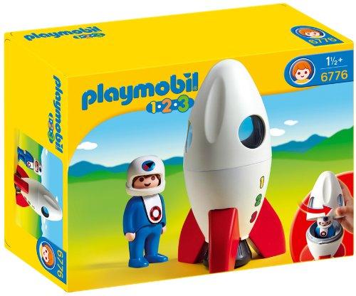 Playmobil 6776 1.2.3 Moon Rocket