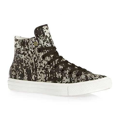 Converse Unisex-Erwachsene Sneakers Chuck Taylor All Star Ii C150148 High-Top Black Translucent Rubber