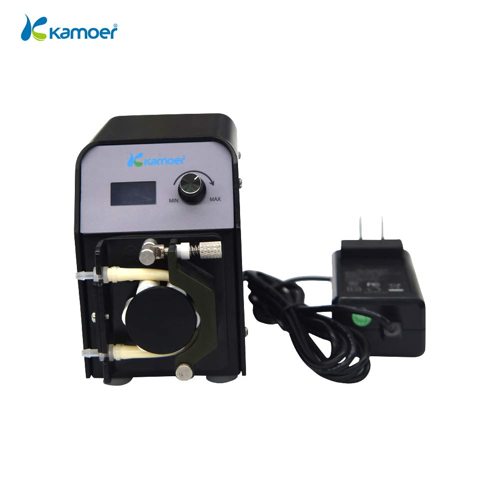 Kamoer FX-STP Peristaltic Pump (Aquarium Calcium Reactor Pump,BPT Tube 3.2mm6.4mm,6rollers)