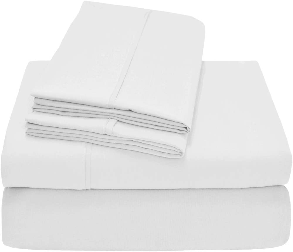 Premium 1800 Ultra-Soft Microfiber Sheet Set Twin Extra Long - Double Brushed - Hypoallergenic - 21