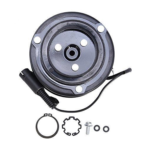 ACUMSTE AC A/C Compressor Clutch Kit Pulley Bearing Coil Plate For Mini Cooper 02-08