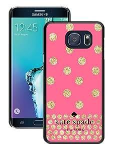 S6 Edge Plus case,Kate Spade 124 Black Samsung Galaxy S6 edge Plus cover