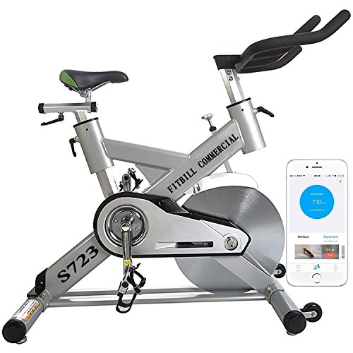 Fitbill Pro Indoor Cycling Bike With Bluetooth Speed