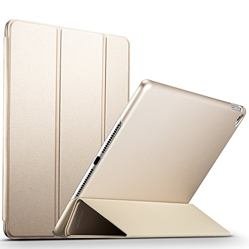 ESR iPad Air 2 Case,  Slim Fit Leather Smart Case with Rubbe