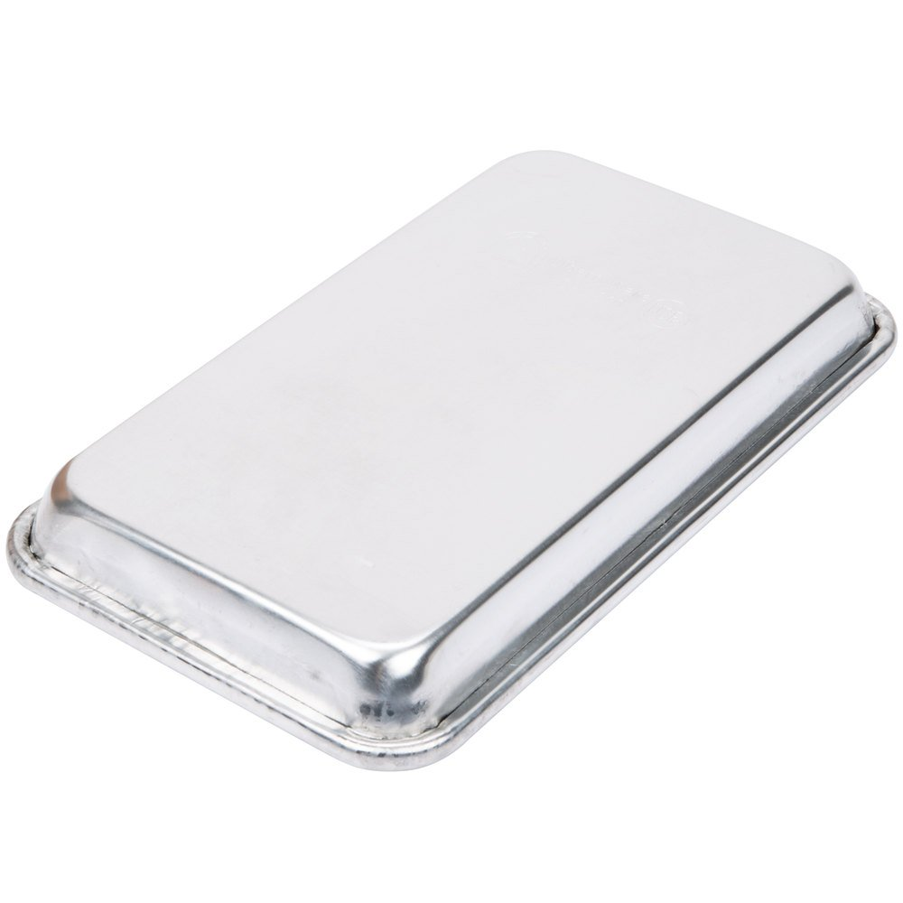Happypinto Aluminum Mini Sheet Pans/Bun Pans, 1/8, One Eighth size 6''x10'' (12 pack) by Happypinto (Image #2)