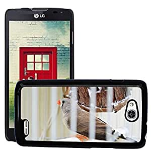 Super Stella Slim PC Hard Case Cover Skin Armor Shell Protection // M00107951 Finches Birds Evolution Pet // LG Optimus L90 D415