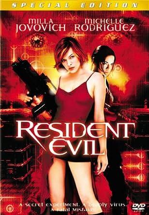 Amazon Com Resident Evil Special Edition Milla Jovovich