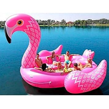Grupo K-2 Mega Flotador Flamenco 500 x 370 x 290 CM FL60: Amazon.es: Deportes y aire libre
