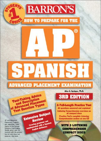 How to Prepare for the AP Spanish with CD (Audio)