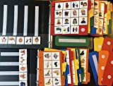 HUGE LOT 400+ CARD PECS 2 BOOKS COMMUNICATION SPEECH AUTISM APRAXIA THERAPY