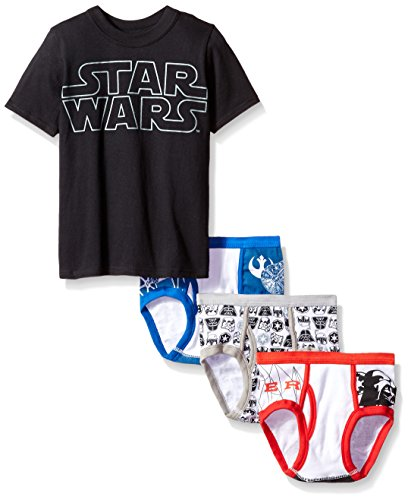 Star Wars 3 Pack Underwear T Shirt
