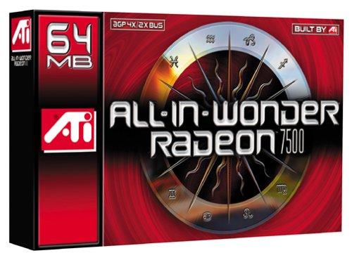 ATI Technologies All-in-Wonder Radeon 7500 Graphics Card