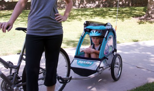 Allen Sports Premier 1 Child Jogger Bike Trailer