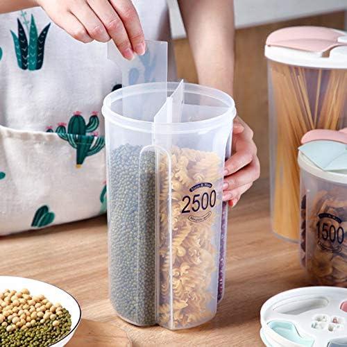 Gesunde beh/älter Getreide Korn trockenfutter lagertank klarsichtdeckel kunststoffkoffer feeilty Gro/ße Vorratsdosen Set