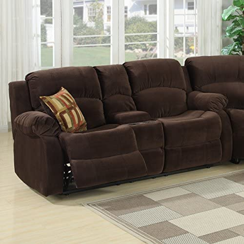 Christies Home Living Tracey Love Seat Brown