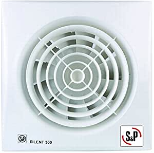 Soler palau silent 300 cz extractor de ba o for Extractor bano 80 mm