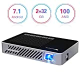 Best Android Projectors - Mini Projector WOWOTO A5 Pro New Upgraded 50% Review