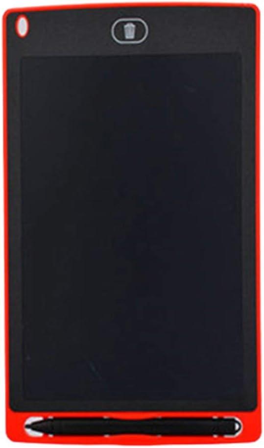 LCDライティングタブレットキッズ描画タブレット手書きボードパッド液晶手書きボード子供落書き描画ボード(ピンク12インチ)