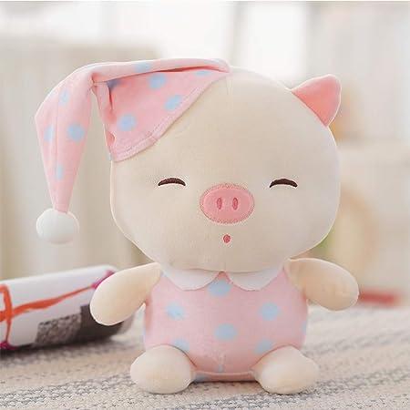 X&MM Linda muñeca Almohada Piggy Girl cumpleaños Regalo ...