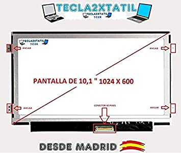 """TECLA2XTATIL TC2X Pantalla Compatible de y para portatil Acer Aspire One D255 10,1"""""""