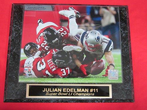 julian-edelman-new-england-patriots-super-bowl-li-champions-engraved-collector-plaque-2-w-8x10-photo