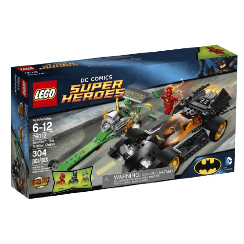 LEGO Superheroes 76012 Batman: The Riddler Chase (Discontinued - Dc Super Heroes Lego Watch