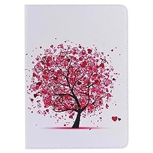 iPad Pro 9.7 Case, OYYC [Love Tree] PU Leather Flip Case [Card Slot Case] Stand Smart Cover [Auto Sleep Wake] for Apple iPad Air 3 / iPad Pro 9.7 inch