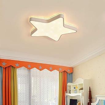Plafón de techo LED Lámpara de techo Forma de estrella Lámpara de ...