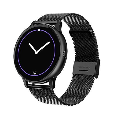 Smartwatch, 1,2-Inch Volledig Aanraakscherm, Vrouwelijk Bluetooth-Waterdicht Horloge Met Meerdere Sportmodi…