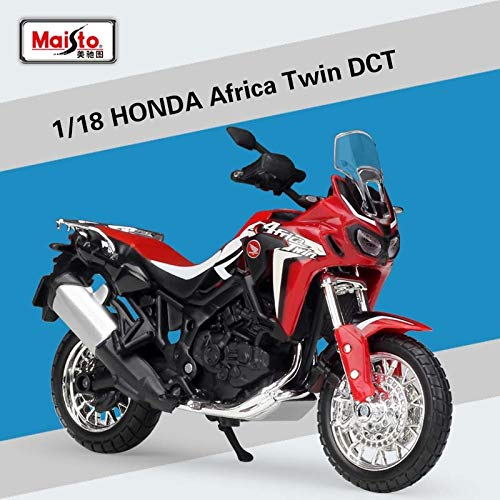 Generic 1 18 Scale Maisto Honda CRF1000L Africa Twin DCT 2016 Adventure Touring Sport Diecast OffRoad Motorcycle Toy Model Kids Gifts