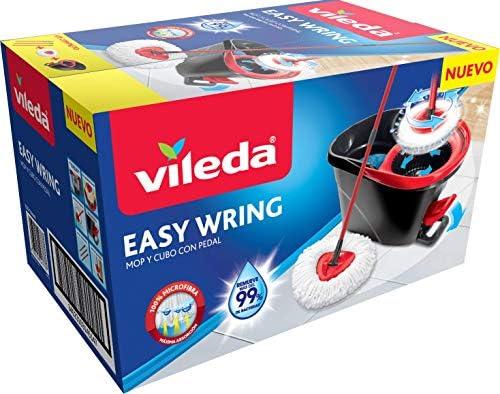 Vileda 141084 Easy Wring & Clean Juego de Fregona con Palo ...