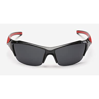 98938b7386 Image Unavailable. Image not available for. Colour  WANGWO Men s Fashion  Half Frame Bike Sunglasses UV Protection ...