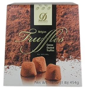 Chocolate Belgian Truffles Donckels – 1 Pound Box
