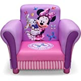 Kids, Children, Toddlers Upholstered Fabric Chair (Minnie Mouse)