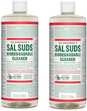 Dr. Bronner's Sal Suds, 32-Ounce Bottles (Pack of 2)