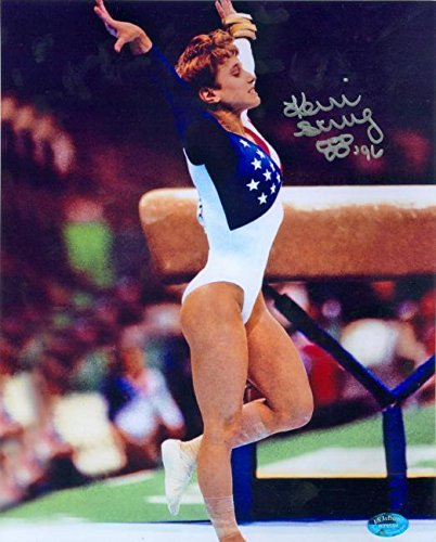 Kerri Strug autographed 8x10 photo (1996 US Women's Olymp...