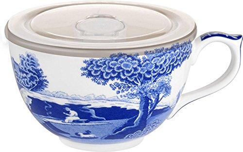 Jumbo Saucer (Potrmeirion Blue Italian Jumbo Cup with Lid 1622456)